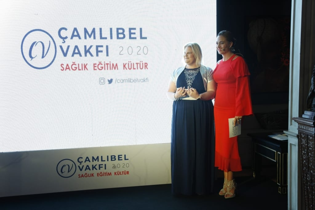 Louise Brown visits the Camlibel Foundation in Turkey